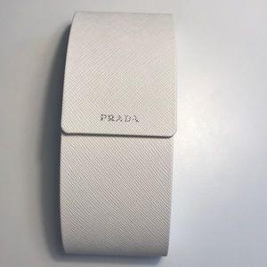 Prada glass case